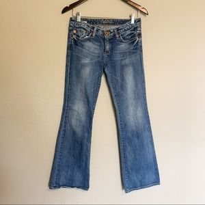 Big Star sweet low boot cut light wash 28 regular